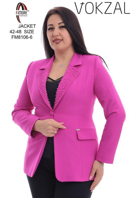 Plus Size Jackets 1050457