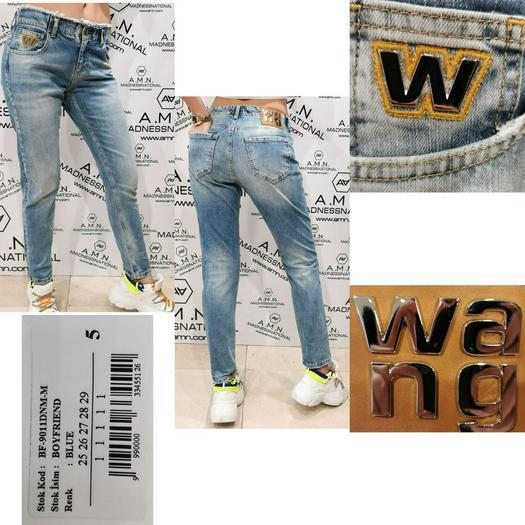 Jeans Pants Amnesia 739218