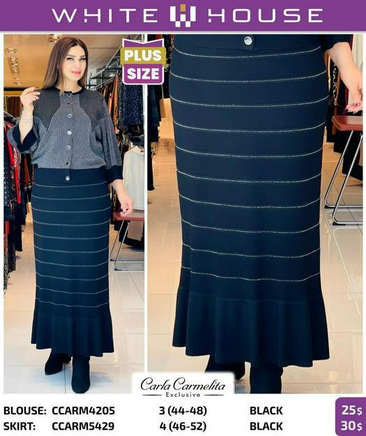 Plus Size Skirts 1033362