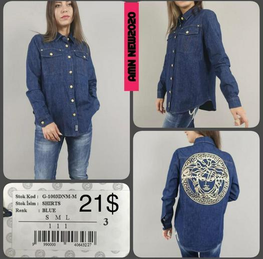 stock blouses shirts 1010424