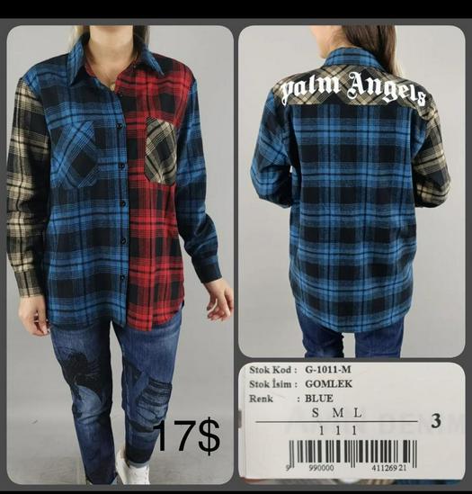 stock blouses shirts 1010413